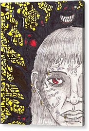 The Darkness Within Acrylic Print by Joshua Massenburg