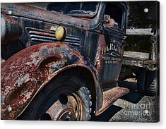 The Darlins Truck Acrylic Print by David Arment