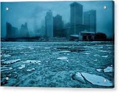 The Day After Tomorrow Acrylic Print by Chris Lord