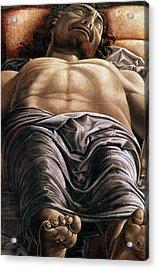 The Dead Christ Acrylic Print by Andrea Mantegna