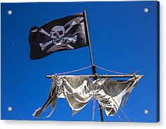 The Death Flag Acrylic Print by Garry Gay