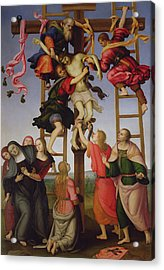The Deposition Acrylic Print by F Lippi