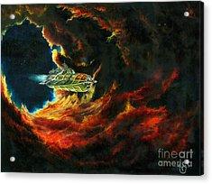 The Devil's Lair Acrylic Print by Murphy Elliott