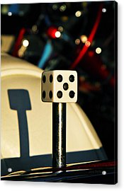 The Die Acrylic Print by Chris Berry