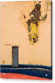 The Door - Featured 2 Acrylic Print by Alexander Senin
