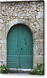The Door In The Wall Acrylic Print by Georgia Fowler