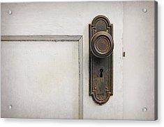 The Door Acrylic Print by Scott Norris