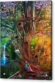 The Dreaming Tree Acrylic Print by Aimee Stewart