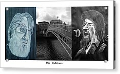 The Dubliners Acrylic Print by Colin O neill