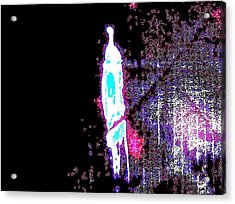 The Edge Acrylic Print by Bruce Combs - REACH BEYOND