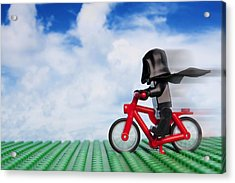 The Emperor's New Bike Acrylic Print by Samuel Whitton