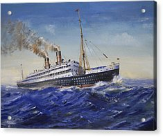 The Empress Of Ireland Acrylic Print by Christopher Jenkins