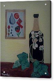 The Empty Bottle Acrylic Print by Bamhs Blair