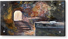 The Empty Tomb Acrylic Print by George Richardson