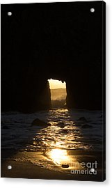 The End Of A Day Acrylic Print by Suzanne Luft