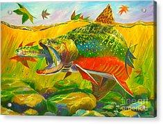 The End Of The Rainbow  Acrylic Print by Yusniel Santos