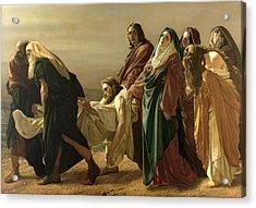 The Entombment, 1883 Acrylic Print by Antonio Ciseri