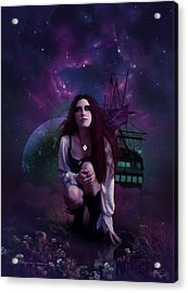 The Explorer Acrylic Print by Cassiopeia Art