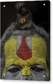 The Eyes Of A Holy Man 2 Acrylic Print by David Longstreath