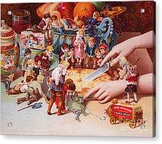 The Fairys Pie Acrylic Print by American School
