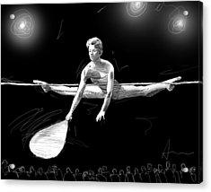 The Fan Acrylic Print by H James Hoff
