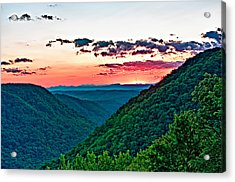 The Far Hills 2 Acrylic Print by Steve Harrington