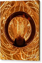 The Fire Within Acrylic Print by Newel Hunter