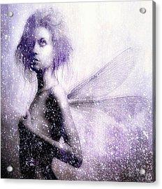 The First Spring Fairy Acrylic Print by Gun Legler