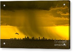 The Floating City  Acrylic Print by Marvin Spates