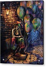 The Fool Dreamer Acrylic Print by Kd Neeley