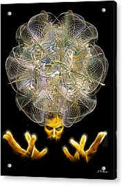 The Fractal Artist Acrylic Print by Michael Durst