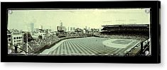 The Friendly Confines Acrylic Print by Jame Hayes