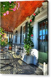 The Front Porch 2 Acrylic Print by Mel Steinhauer