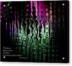 The Future Acrylic Print by Gerlinde Keating - Keating Associates Inc