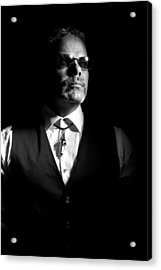 The Gambler Acrylic Print by Monte Arnold
