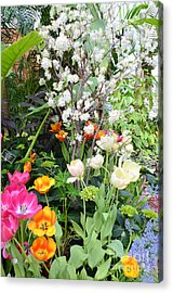 The Gardens Acrylic Print by Kathleen Struckle