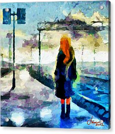 The Girl From The Dream Tnm Acrylic Print by Vincent DiNovici