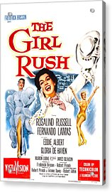 The Girl Rush, Us Poster, Rosalind Acrylic Print by Everett