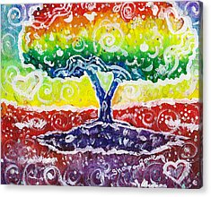 The Giving Tree Acrylic Print by Shana Rowe Jackson