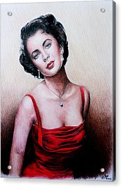 The Glamour Days Acrylic Print by Andrew Read