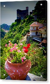 The Godfather Villages Of Sicily Acrylic Print by David Smith