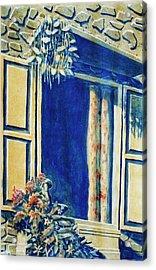The Good Morning Window Acrylic Print by Adhijit Bhakta