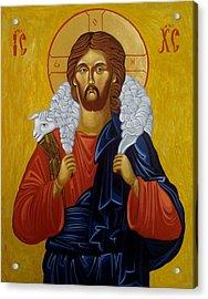 The Good Shepherd Acrylic Print by Joseph Malham