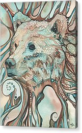 The Great Bear Spirit Acrylic Print by Tamara Phillips