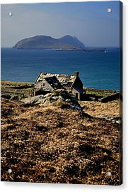The Great Blasket Acrylic Print by Florian Walsh