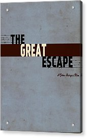 The Great Escape Acrylic Print by Ayse Deniz