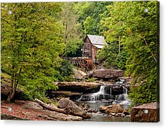 The Grist Mill Acrylic Print by Steve Harrington