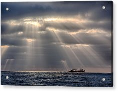 The Guiding Light Acrylic Print by Peter Tellone