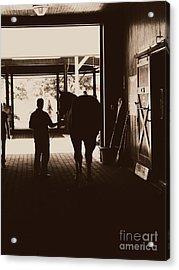 The Hall Of Champions Acrylic Print by Deborah Fay