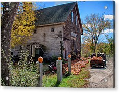 The Harvest Is In Acrylic Print by Jeff Folger